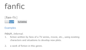 Fanfic definition